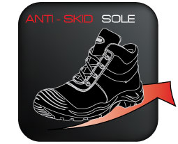Anti-skid-Sole