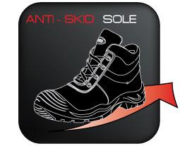 Anti-skid-Sole