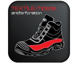 Textile-Midsole