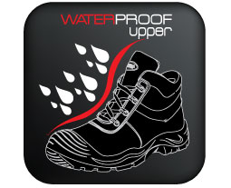 Waterproof-upper